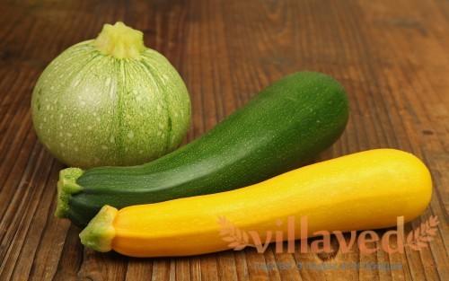 Кабачки содержат много витаминов
