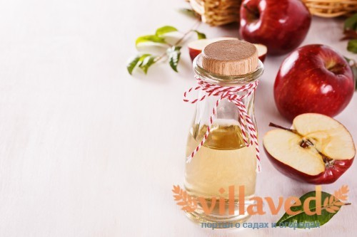 Сырой яблочный уксус