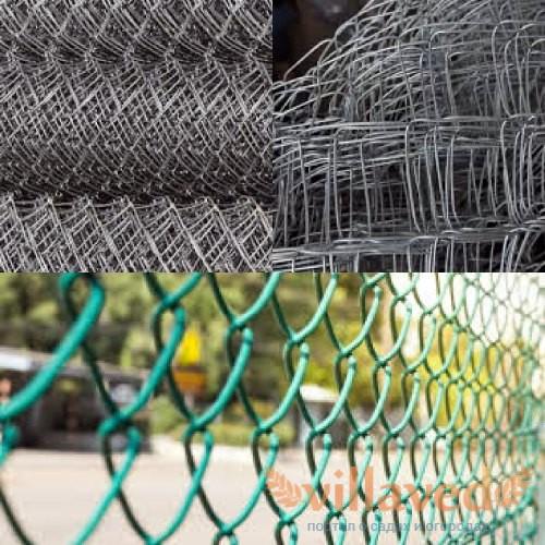 Виды заборной сетки