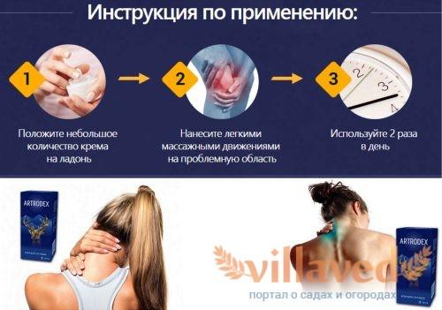 Крем Artrodex инструкция