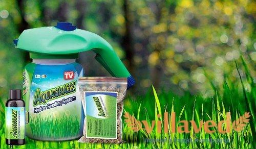 Гидропосев газона AquaGrazz