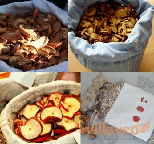 Тара для сушеных яблок
