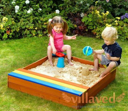 Как сделать песочницу