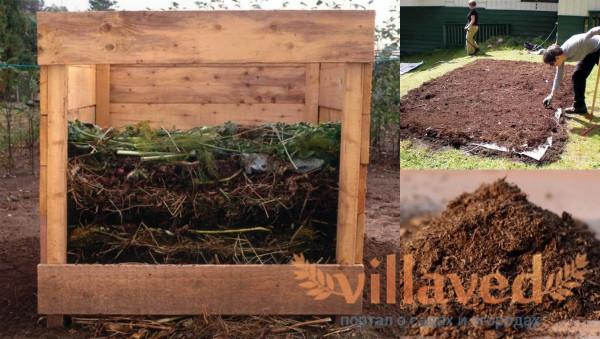 Как приготовить компост из торфа